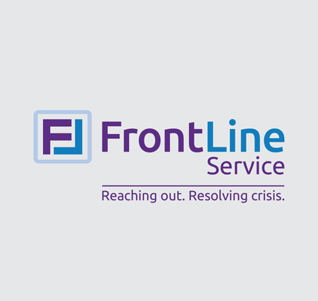 FrontLine Service New Name and Logo | Brand Identity | Mental Health