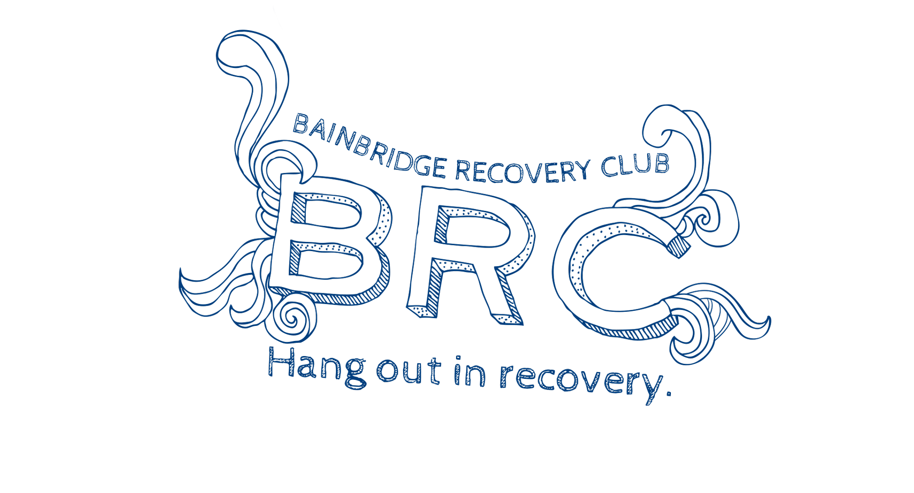 Bainbridge Recovery Club Logo | Branding