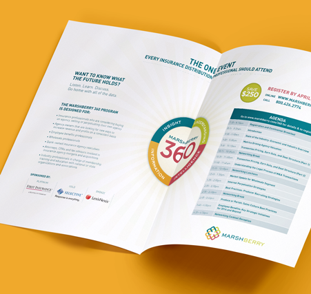 MarshBerry 360 Design and Campaign Brochure | Rebranding