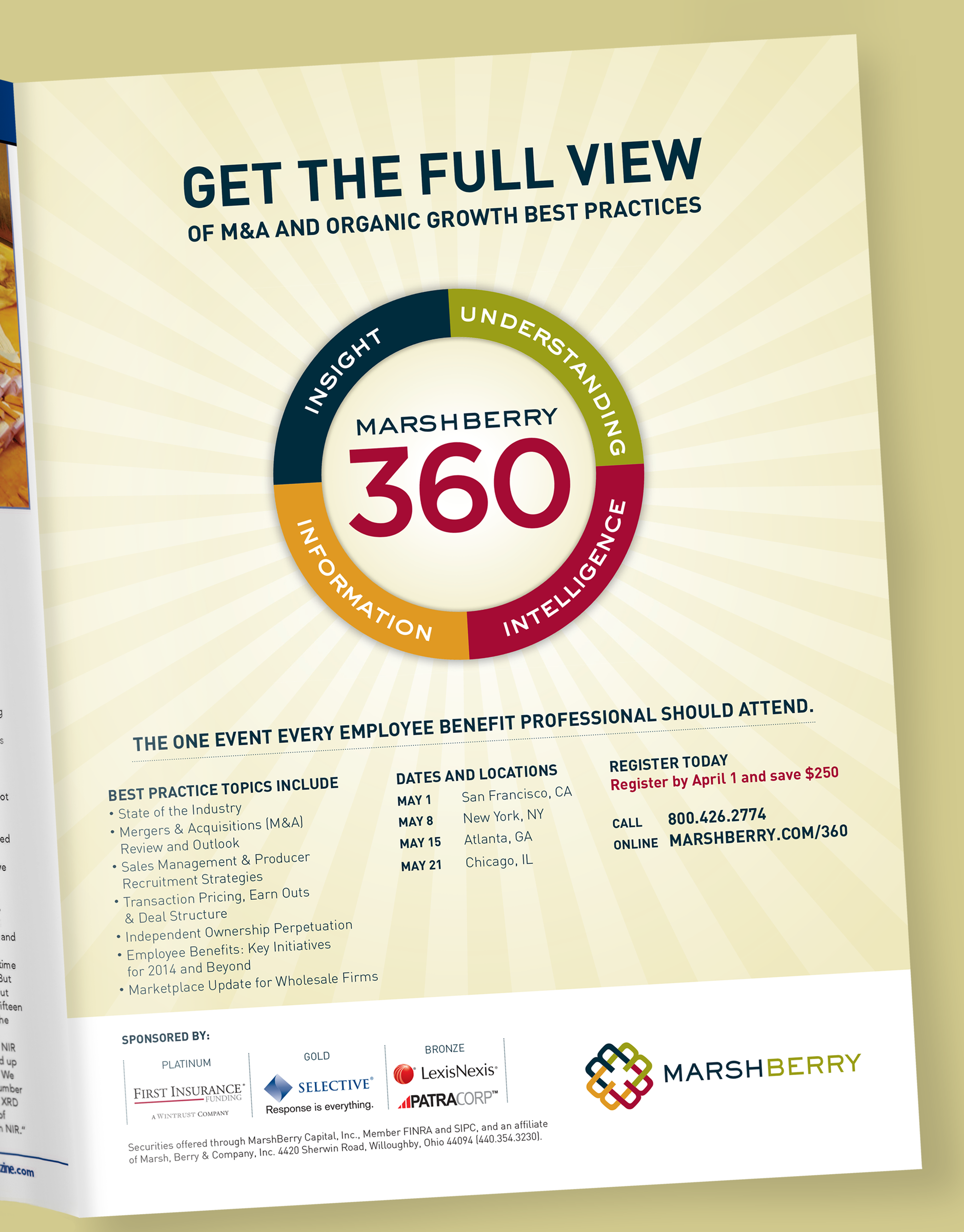 MarshBerry 360 Design and Campaign Ad | Rebranding