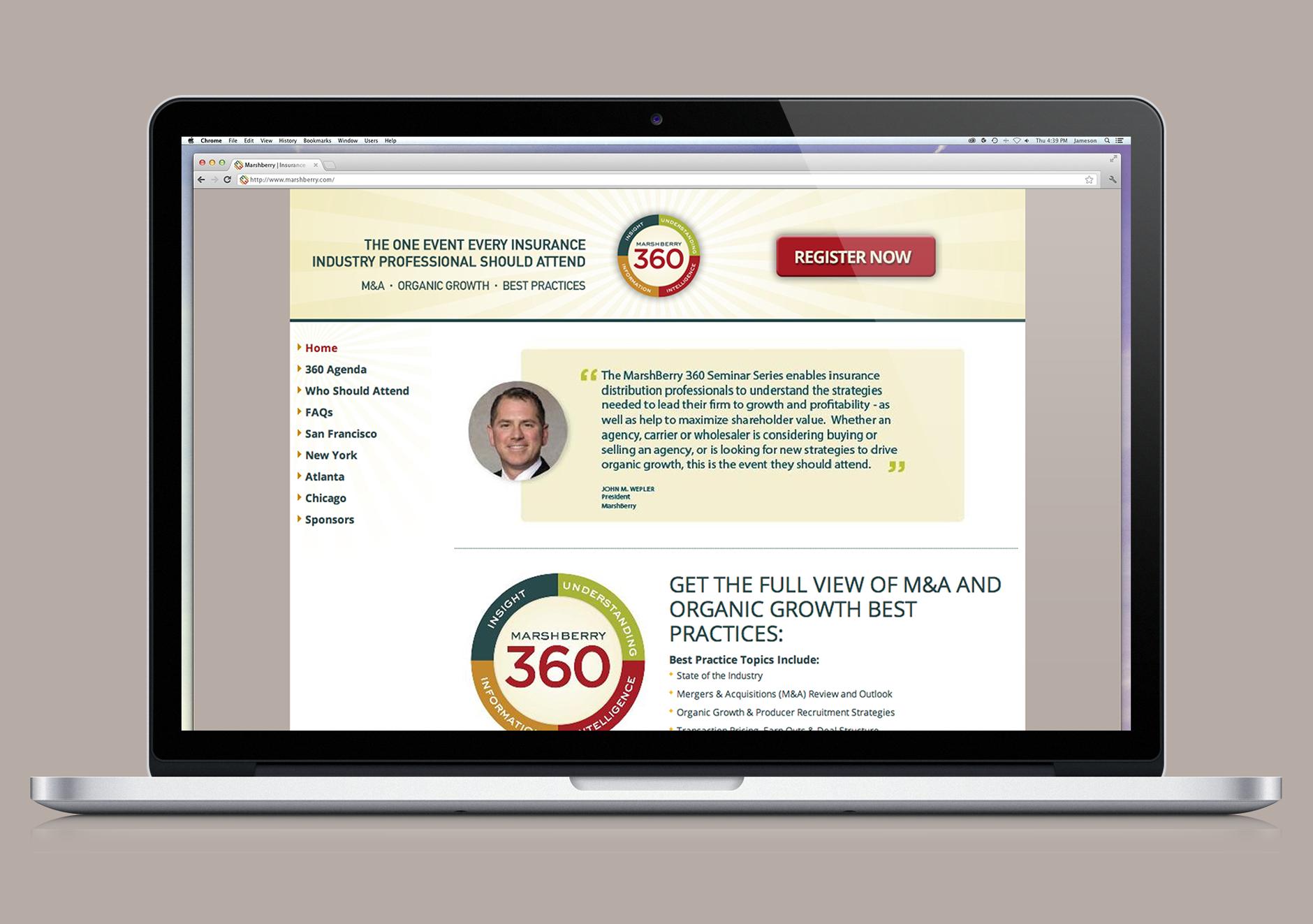 Marshberry 360 Branding Campaign | Rebranding