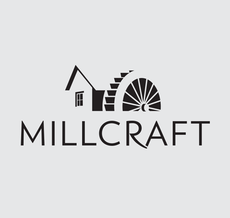 Millcraft Logo Branding One Color | Company Rebranding