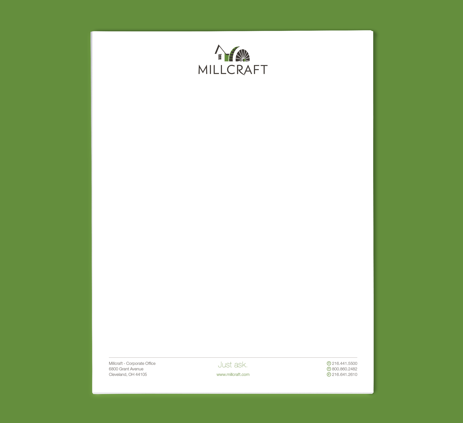 Millcraft Logo Branding | Company Rebranding