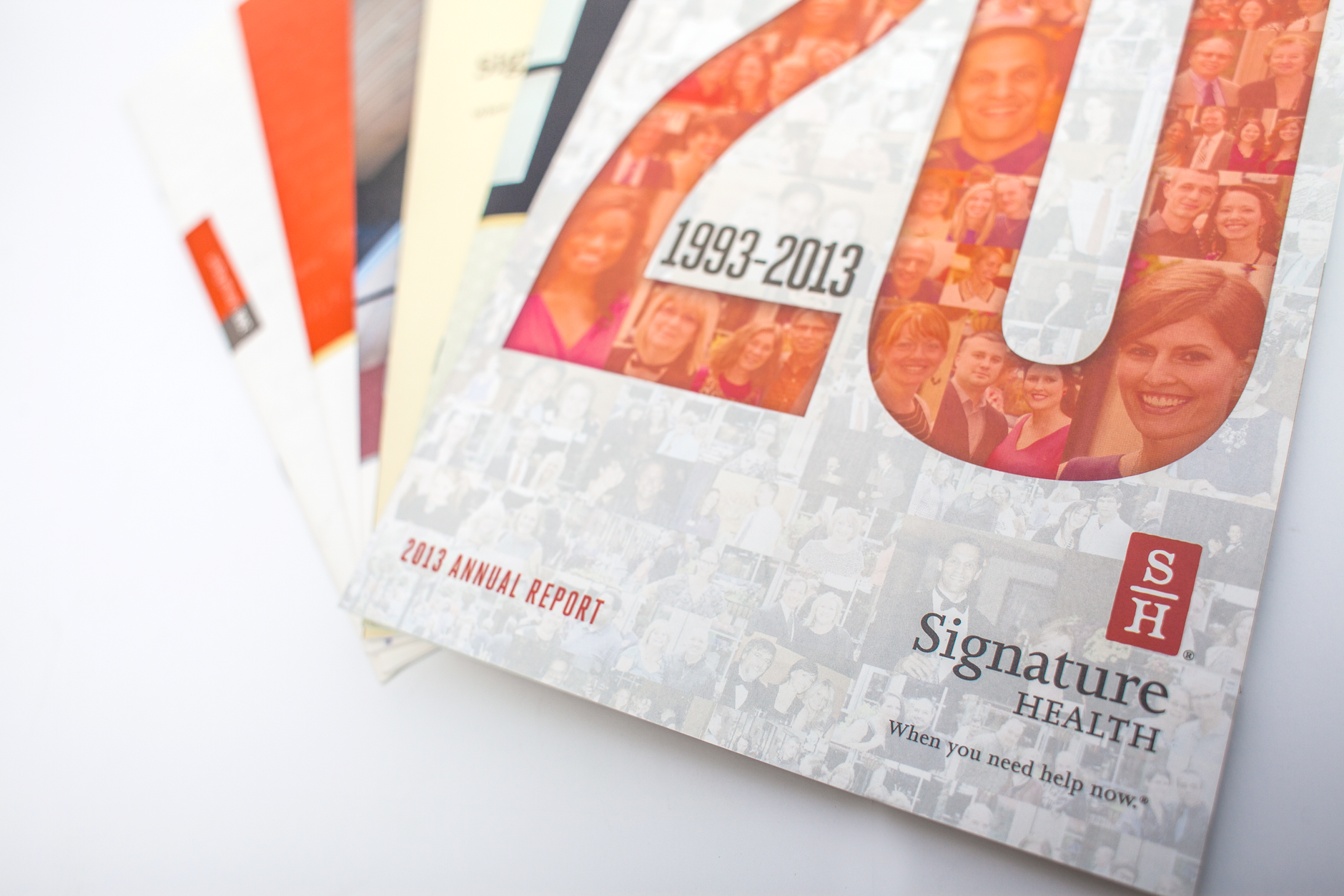 Signature Health 2013 Annual Report | Brand Identity