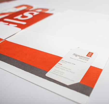 Signature Health Stationary Set | Branding