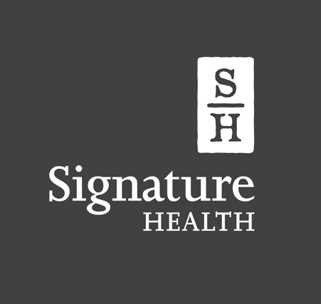 Signature Health Branding Logo | Behavioral Health Branding