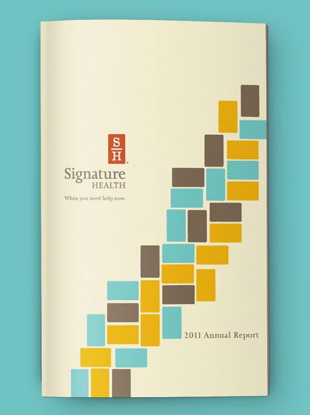 Signature Health Annual Report 2011 | Brand identity