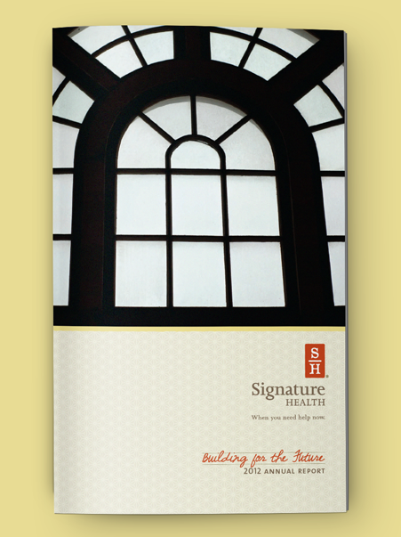 Signature Health Annual Report 2012 | Brand Identity