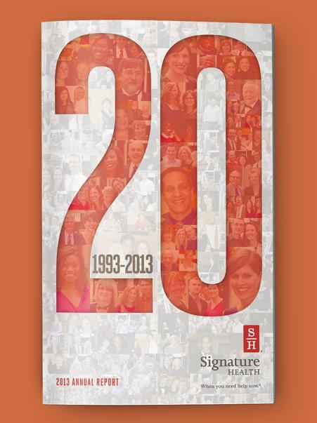 Signature Health Annual Report 2013 | Brand Identity