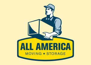 All America Moving and Storage Logo Design and Branding