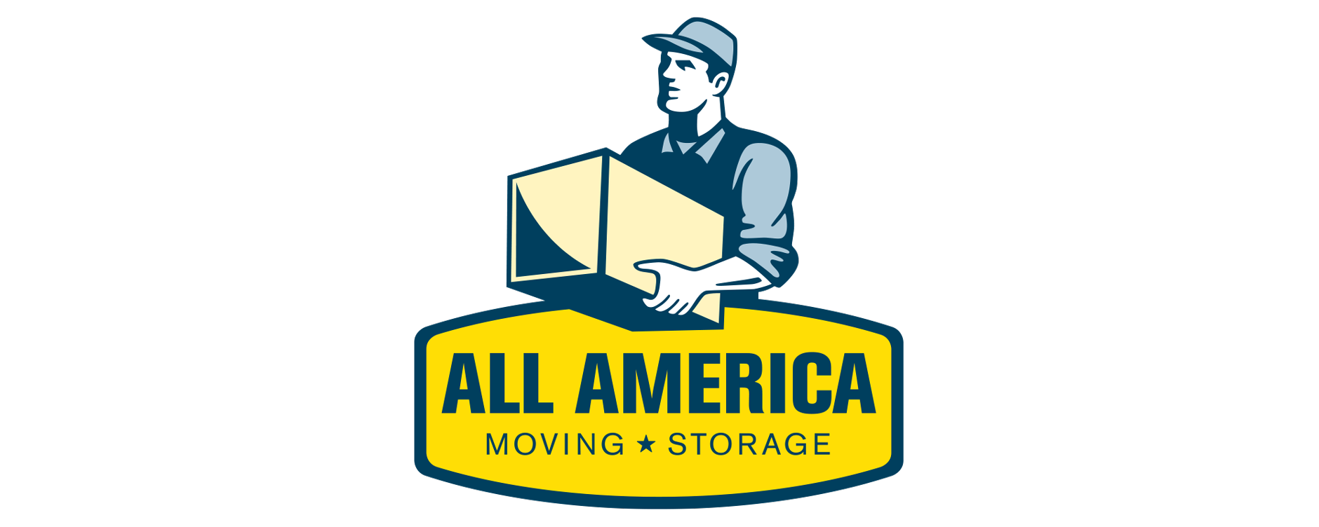 All America Moving and Storage | Logo Design |Branding