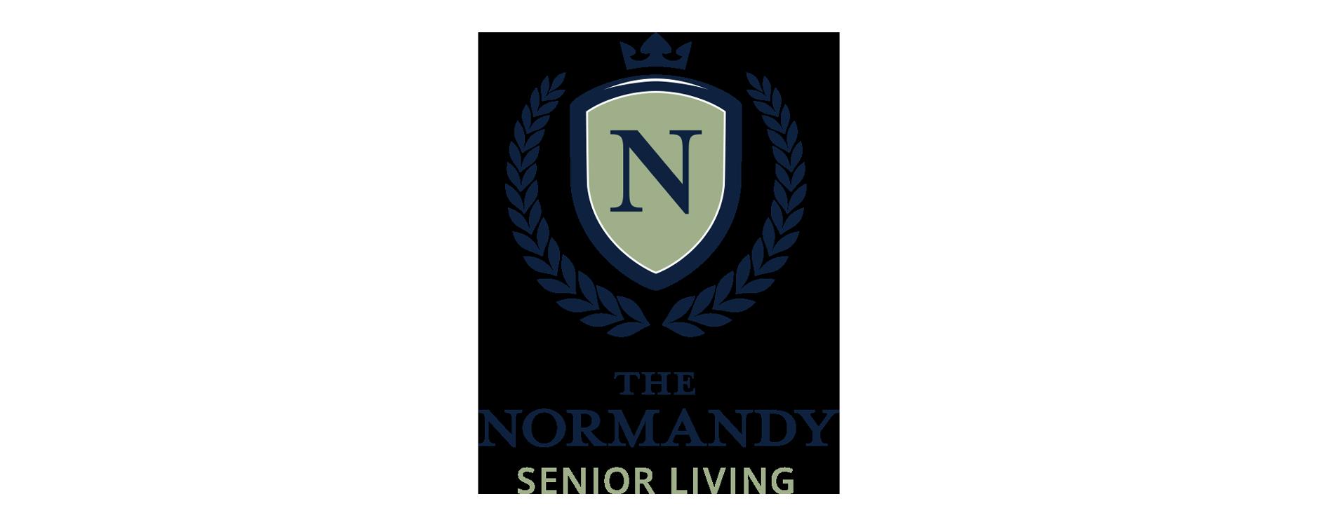 The Normandy Senior Living Logo   Rebranding Agency