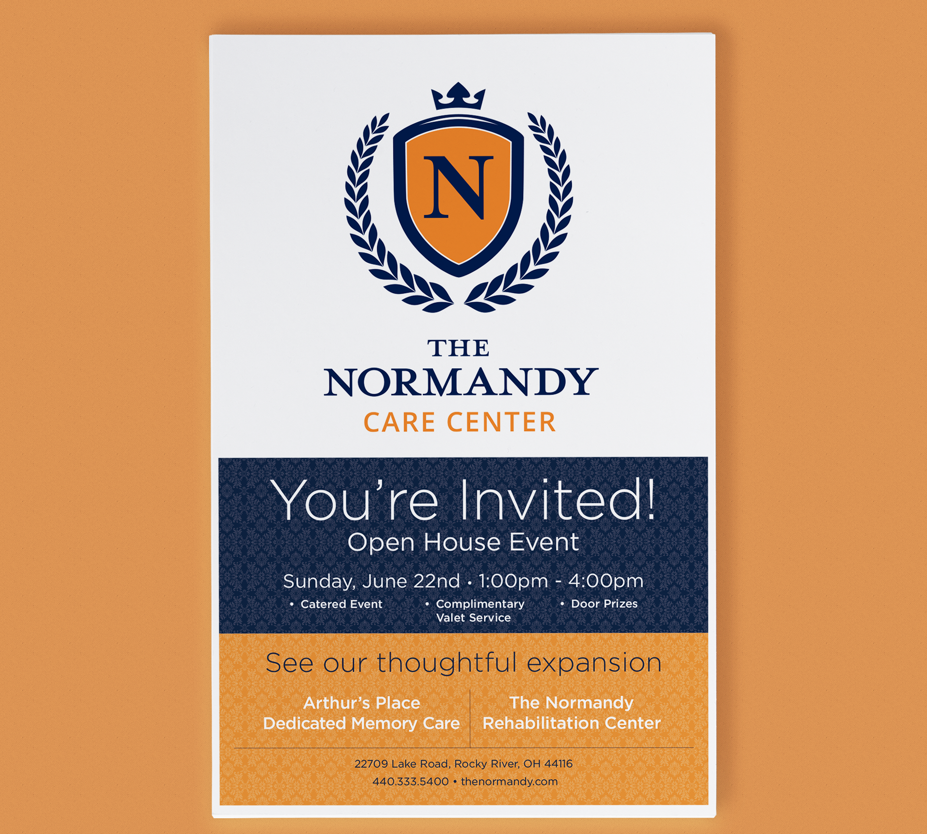 The Normandy Care Center Poster | Rebranding Agency