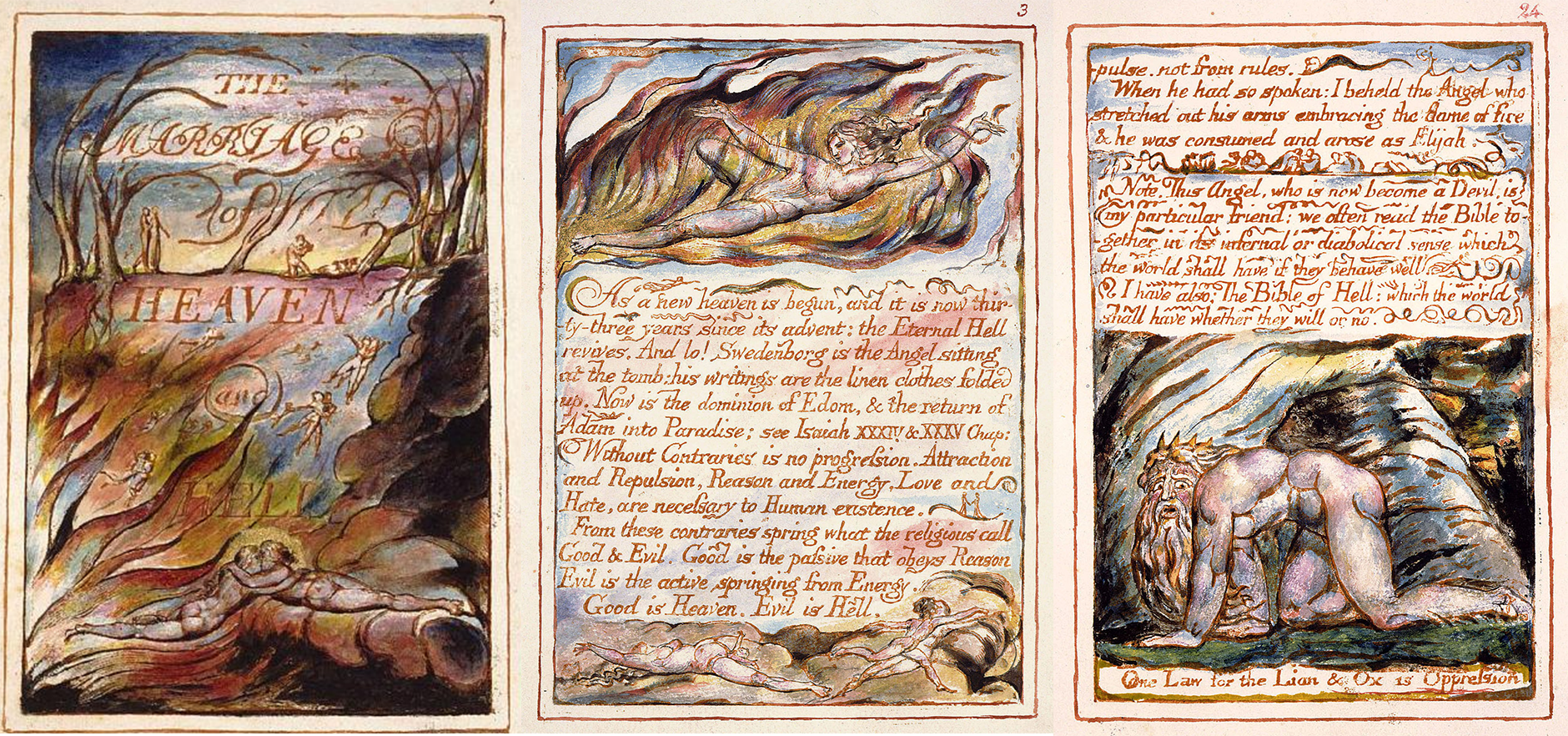 William-Blake-The-Marriage-of-Heaven-and-Hell | typography, css, web design