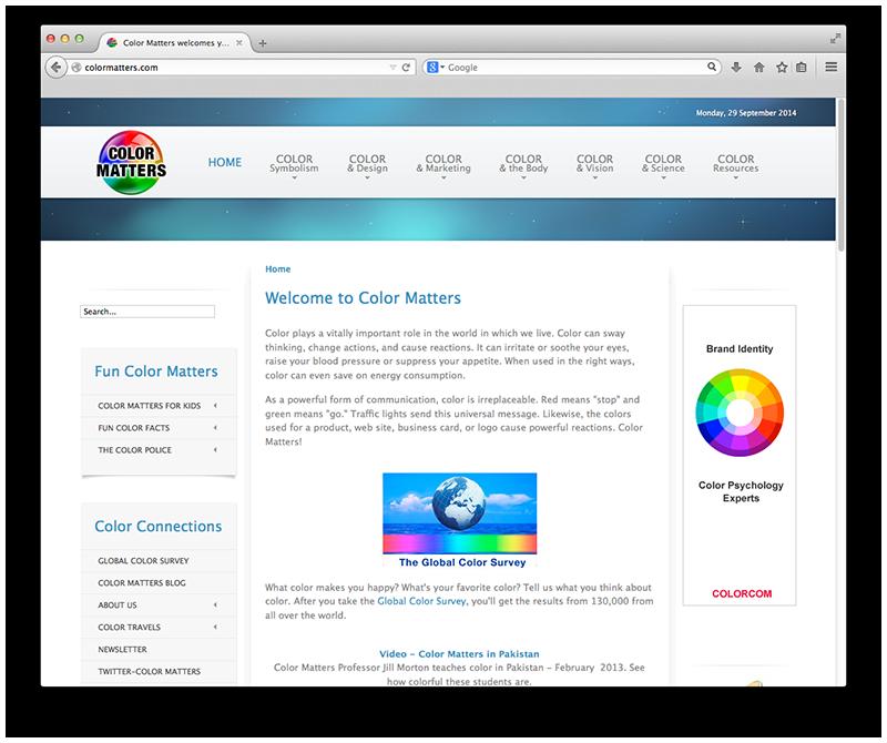 -ColorMatters.com   Logo Design   Logo Colors