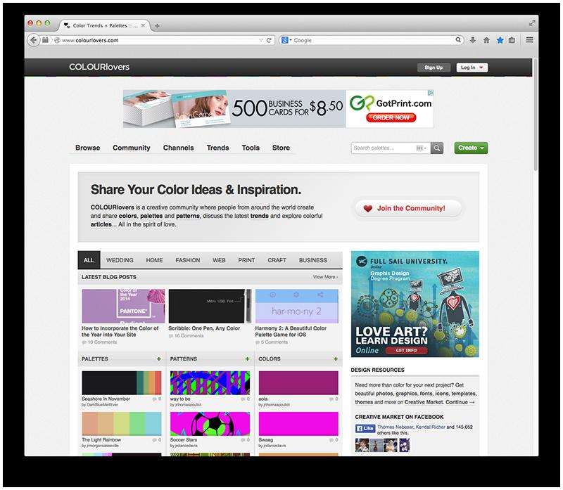 -Colourlovers.com   Logo Design   Logo Colors