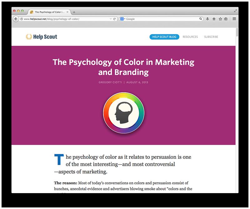 -HelpScout.net   Logo Design   Logo Colors
