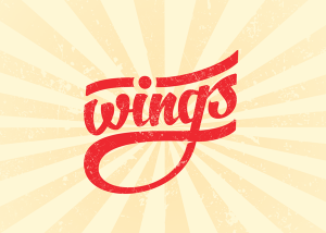 WINGS Food Truck Logo Featured