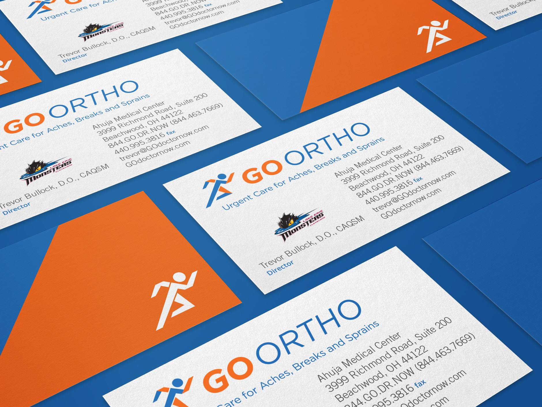 GO Ortho-Business-Cards | Health Care Branding