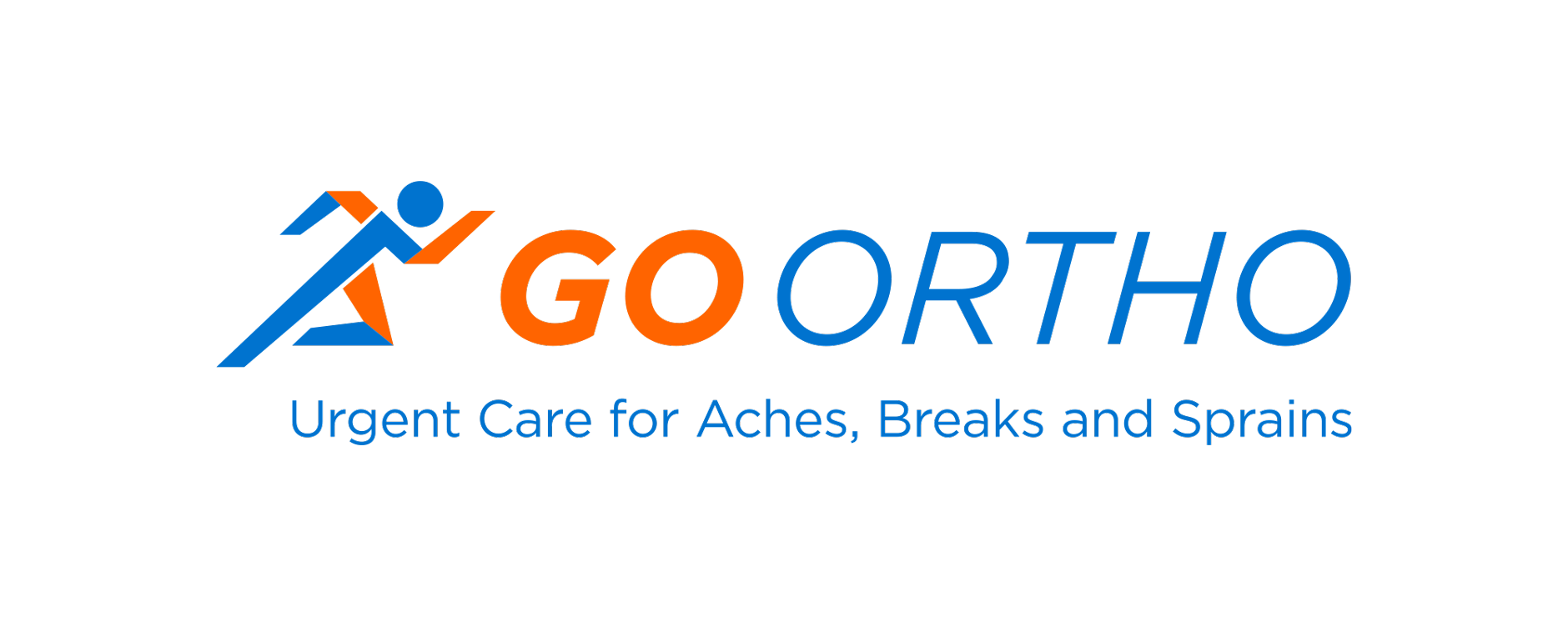 GO Ortho Full Logo Horizontal | Health Care Branding