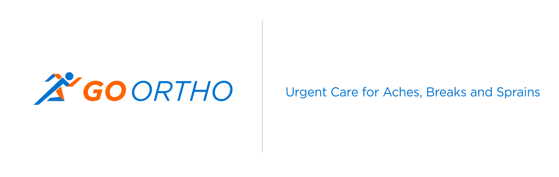 GO Ortho-Logo-and-Tagline | Health Care Branding
