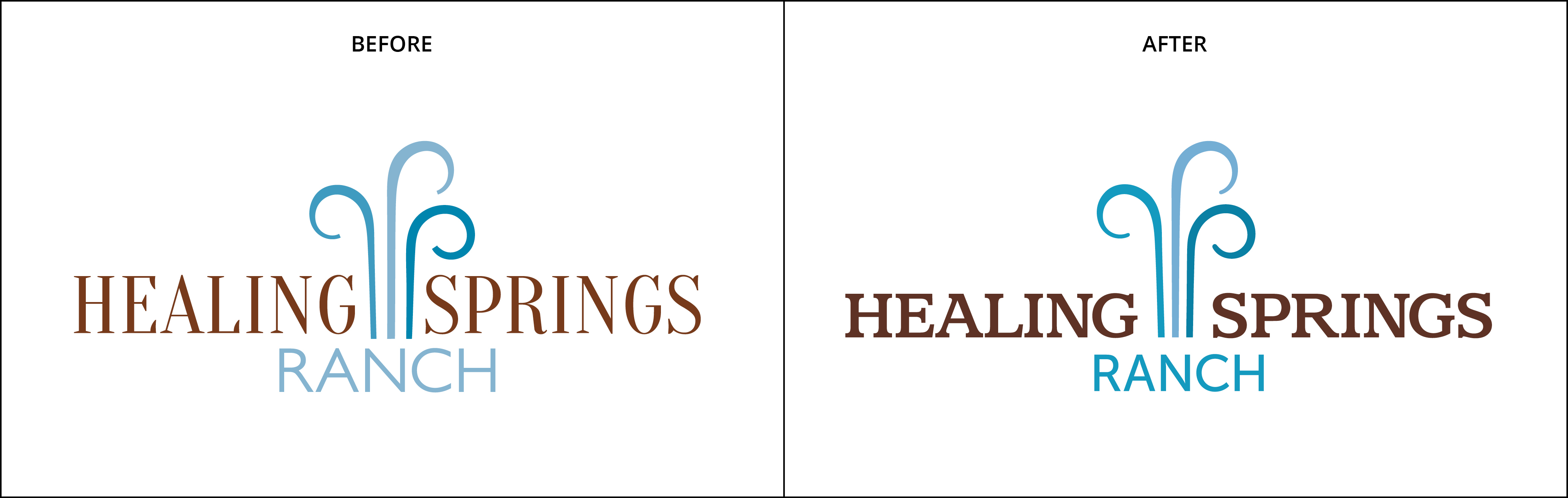 Logo Refresh Healing Springs