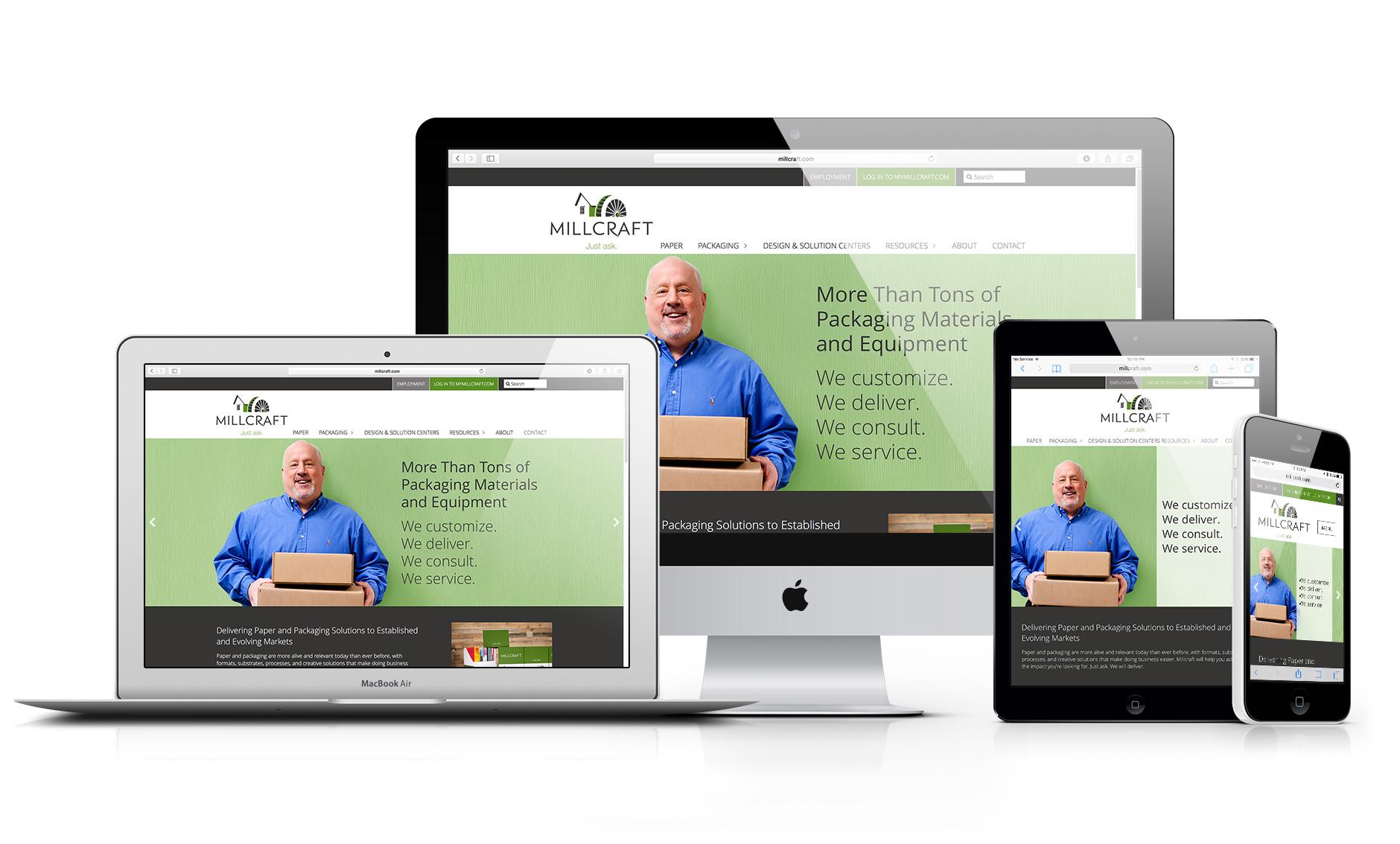 """Millcraft Website Responsive"""" width="""